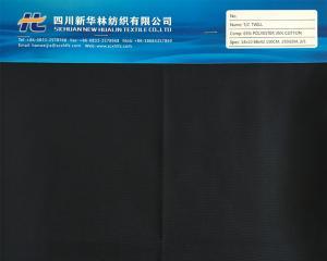 涤棉染色斜纹T/C 65/35 14x10 88x42 250GSM