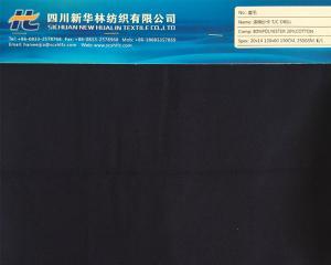 涤棉染色纱卡 T/C 80/20 20x14 120x60
